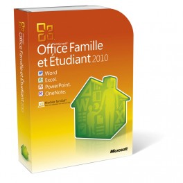 Microsft Office Famille et Étudiant 2010